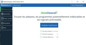 AdwCleaner anti-hijacker de navigateur gratuit