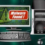 Malware détecté sur un ordi