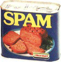 Du spam en boîte