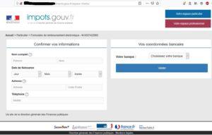 Tentative de phishing aux impôts