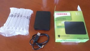 Disque dur externe 1to Toshiba Canvio Basics